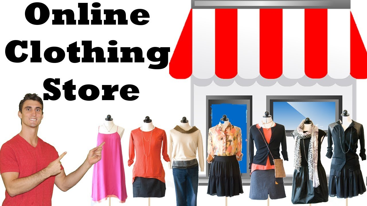 In Shop Online Store How To Start An Online Clothing Store In 3 Steps