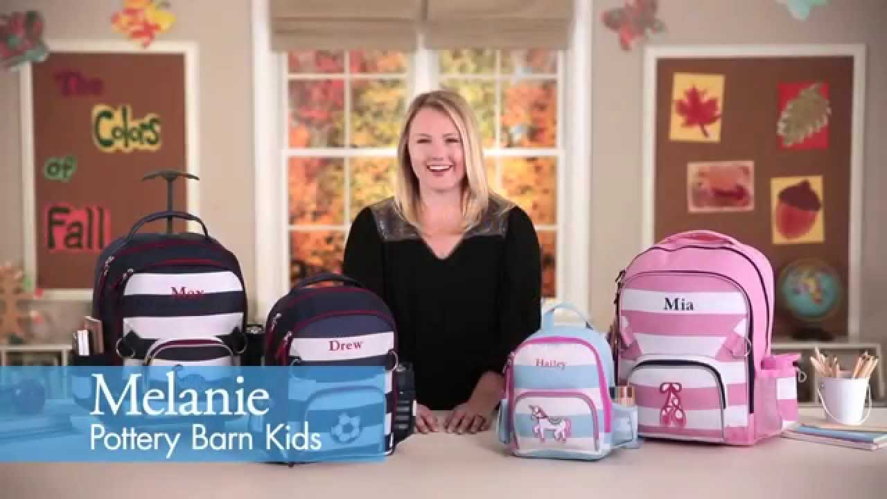 Back To School With Pottery Barn Kids  Fairfax Collection - YouTube bf52edd552502