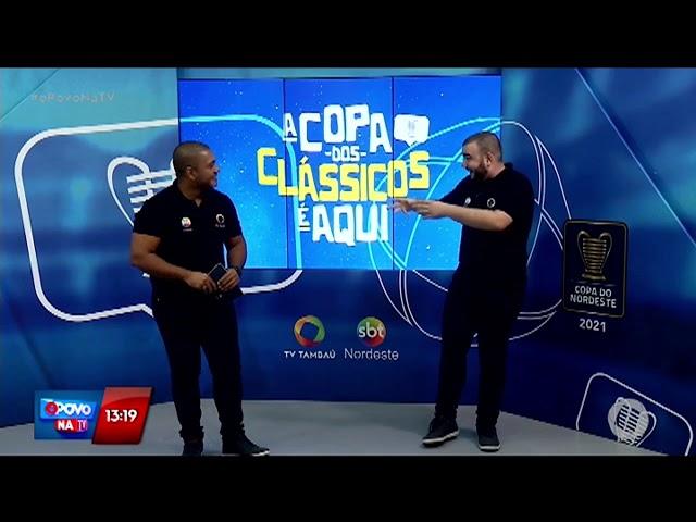 TV Tambaú se prepara para transmissão da partida entre Botafogo PB X 4 de Julho -  O Povo na TV
