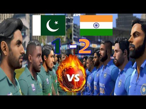 Final Series Decider - 4th ODI INDIA Vs PAKISTAN 2020 Full Match Series Cricket 19 Live Gameplay