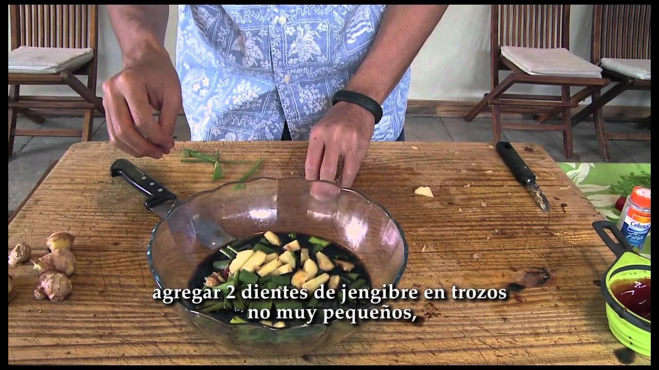 American Kitchen Pollo Aiko Pollo Al Estilo De Hawaii Youtube