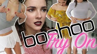 MINI BOOHOO HAUL/TRY ON | PETITE CLOTHING | CHEAP/SALE | Charlotte Williams