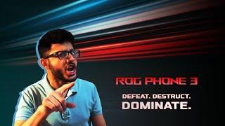 ROG Phone 3 | @CarryMinati | Defeat. Destruct. Dominate!