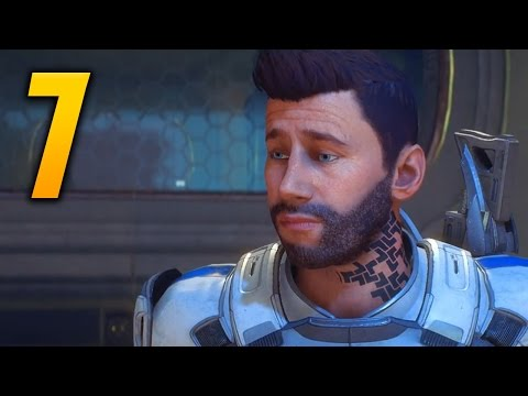 "Mass Effect: Andromeda Gameplay Walkthrough - Part 7 ""Kett Research Center"" (Let's Play)"