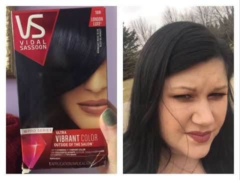 Vidal Soon Midnight Muse Blue Hair Dye Review