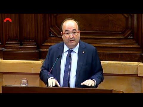 Intervencio de M Iceta al debat sobre les modificacions del Govern