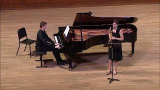 Sarah Hetrick plays Denisov, Sonate, II.  Lento
