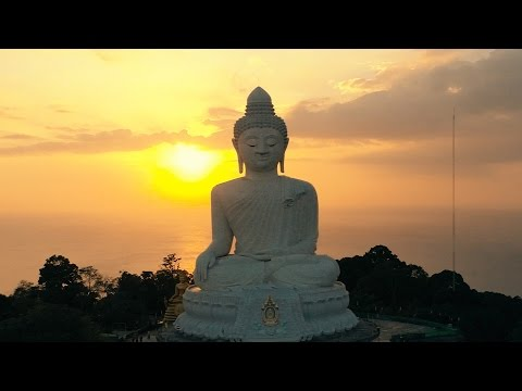The Big Buddha of Phuket | Aerial Drone Video in 4k
