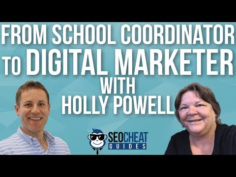 From School Coordinator to Digital Marketer with Holly Powell