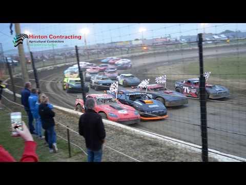 Raced at Beachlands Speedway, Dunedin, New Zealand. 7/12/18. - dirt track racing video image