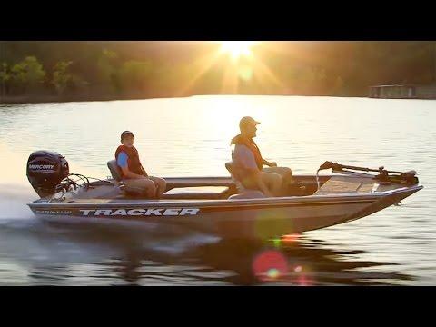 TRACKER Boats: 2016 Panfish 16 Mod V Aluminum Fishing Boat