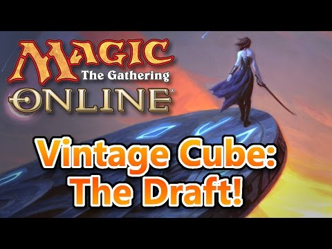 MTG - Vintage Cube Draft! Magic: the Gathering Online!