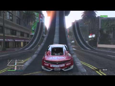 I love stunts and snipers - Grand Theft Auto V