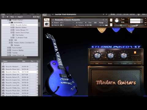 Modern Guitars Virtual Instrument (RnB,Hip-Hop)VSTI: Get this product now at http://www.studiolinkedvst.com