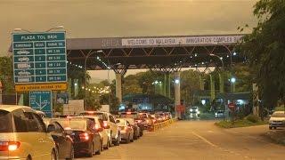 Thai-Malaysian border to Penang