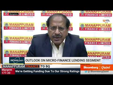 Manappuram Finance On Gold Loans