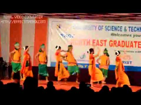 Bwisagu Dance at USTM, (Meghalay)