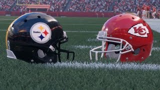 Madden NFL Prediction Week 6 Steelers at Chiefs