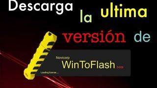 Descarga e instala WinToFlash ultima versi?n 1.4.0000 - Gratis. Y portable. 2016