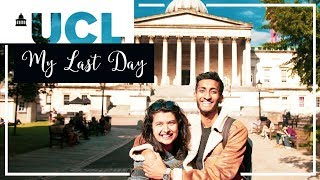My Last Day At UCL | Anpu
