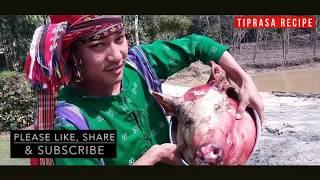 Wak Bokhorok Mosdeng / Pig Head / Pig Head Recipe / Pig Head Spicy TIPRASA RECIPE