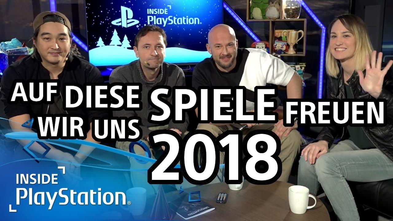 Die besten Spiele 2018: Auf diese PS4-Titel könnt ihr euch freuen!