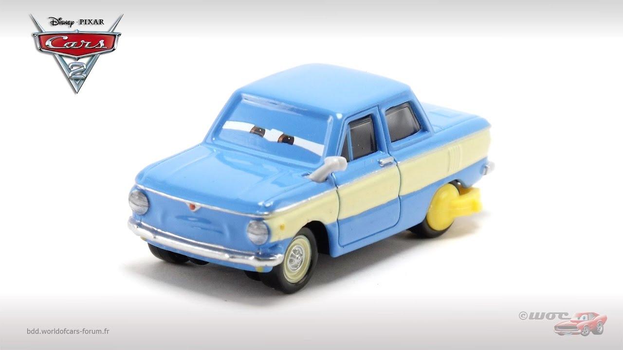 Mattel Disney Pixar CARS 2 VLADIMIR TRUNKOV