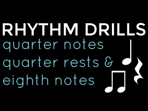 Rhythm Clap Along: Level 2 ~ Quarter Notes, Quarter Rests & Eighth Notes