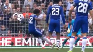 cisc binjai highlight chelsea 4 vs 2 tottenham   sabtu 22 april 2017 fa cup