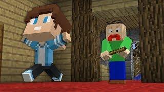 Школьник сделал Побег из Школы Балди в Майнкрафт! Урок BALDI'S Школа монстровв Minecraft Мультик!
