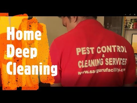 Home Cleaning Services in Mumbai, Thane and Navi Mumbai - Sadguru Facility