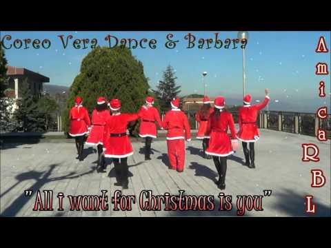 Ballo di gruppo di Natale 2015/2016 -  Coreo Vera Dance -  All i want for Christmas is you