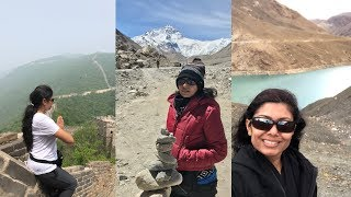 Trip to  China Tibet Video Episode 1 -  Beijing  Lhasa | Bhavnas Travel Documentary