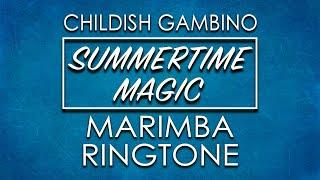 Latest iPhone Ringtone - Summertime Magic Marimba Remix Ringtone - Childish Gambino