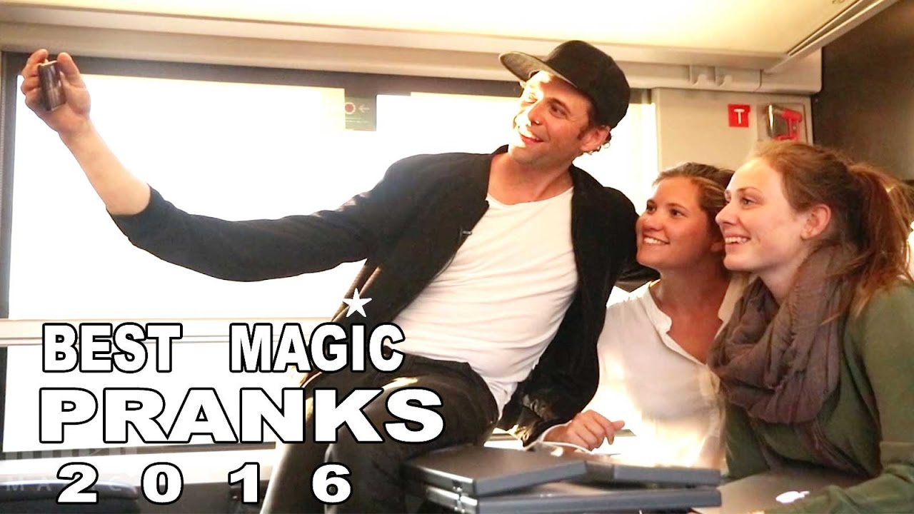 Best Magic Pranks of 2016 -Julien Magic