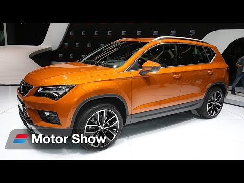 SEAT Ateca vs Ford Kuga Vignale – 2016 Geneva Motor Show