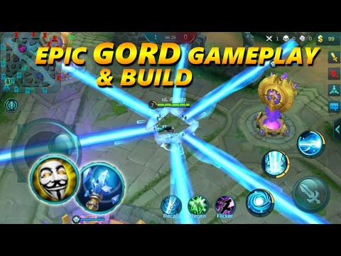 Mobile Legends: CRAZY GORD GAMEPLAY | ULT DAMAGE BROKEN