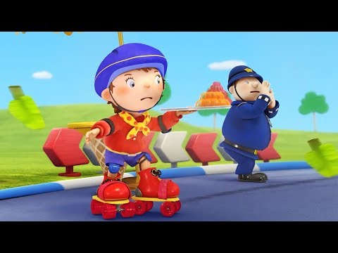 Noddy In Toyland | Time For Some Roller Disco | Noddy English Full Episodes | Cartoons For Children