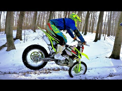 Snow – Wide Open Enduro KeX moto videos