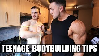 Teenage Bodybuilding Tips 101: PROJECT GROWING MY TEENAGE BROTHER
