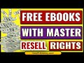 Free Ebooks with Resell Rights