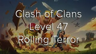 Clash of Clans - TH7 ATTACK ON ROLLING TERROR !!!