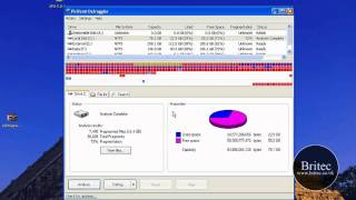 Defragment only Selected Files & Folder Using Freeware Defraggler by Britec