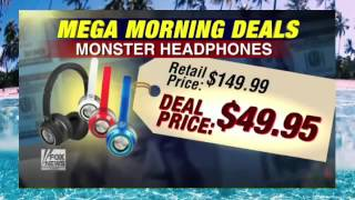 Back to school steals Exclusive Mega Morning Deals for 'Fox and Friends' viewers