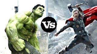 Thor vs Hulk new!    Thor Ragnarok vs Hulk marvel contest of champions