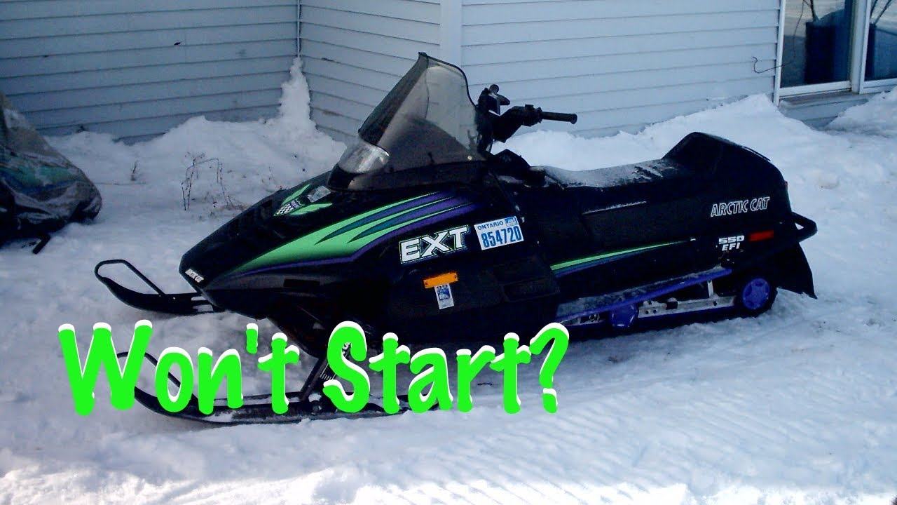 arctic cat snowmobile will not start (won't turn on) 1990-1998