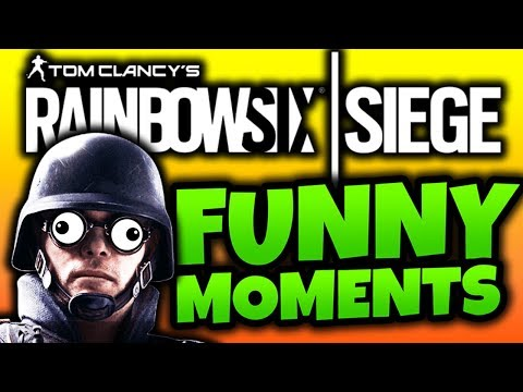 I AM THE GREATEST TEAMMATE! - Rainbow Six Siege Funny Moments
