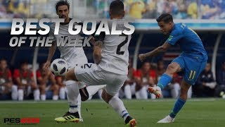 Best goals of this week in pes 18 #episode 1