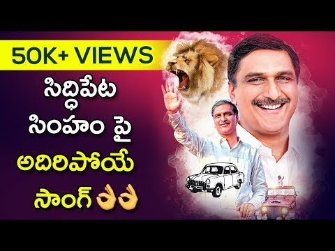 Harish Rao Birthday Special Song | Siddipet MLA | TRS