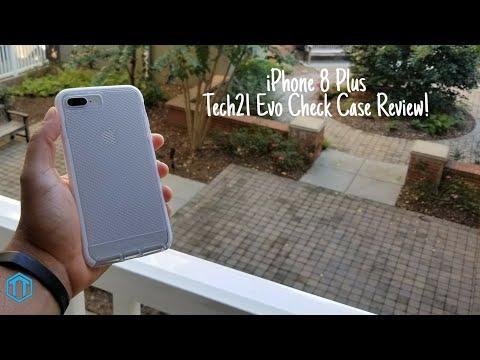 iPhone 8 Plus Tech21 Evo Check Case Review!